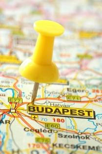 Budapest appartamento mappa