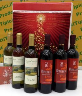 confezioni regalo Natale vini